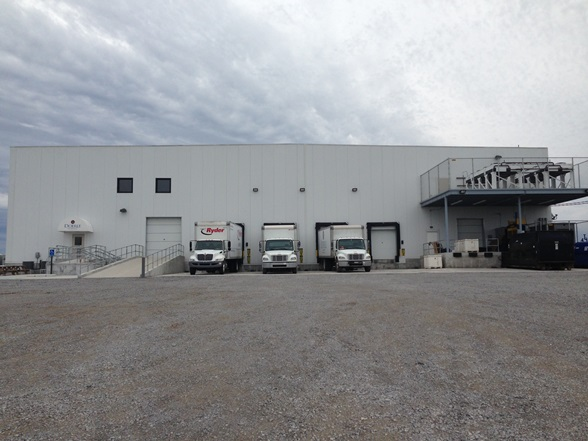 Our distribution center in Port Fourchon, LA proudly serves as the ONLY grocery distributor located inside the port.